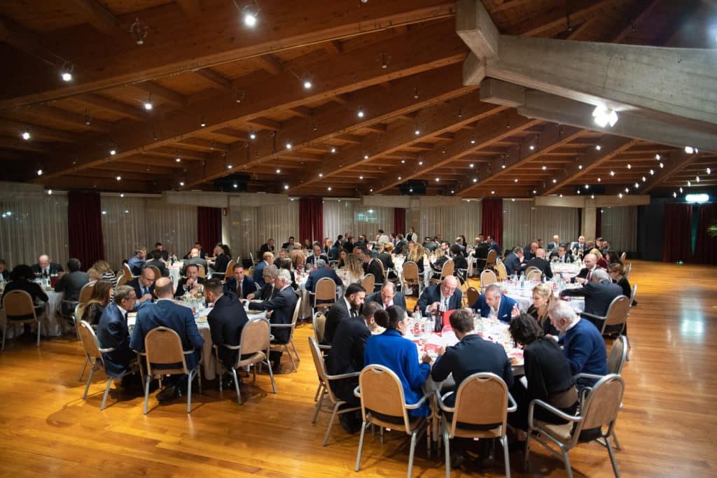 Il Gala Dinner della sera del 19 novembre - Sala Volta